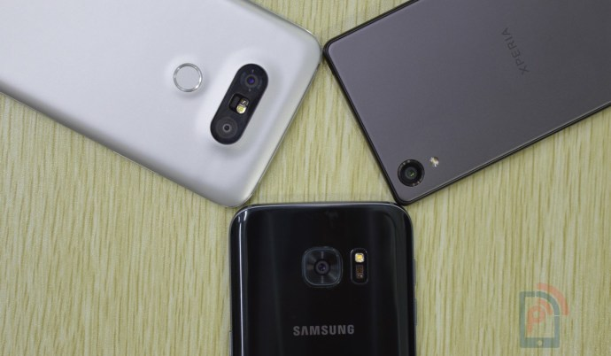Sony Xperia X Vs LG G5 Vs Samsung Galaxy S7 Camera Comparison