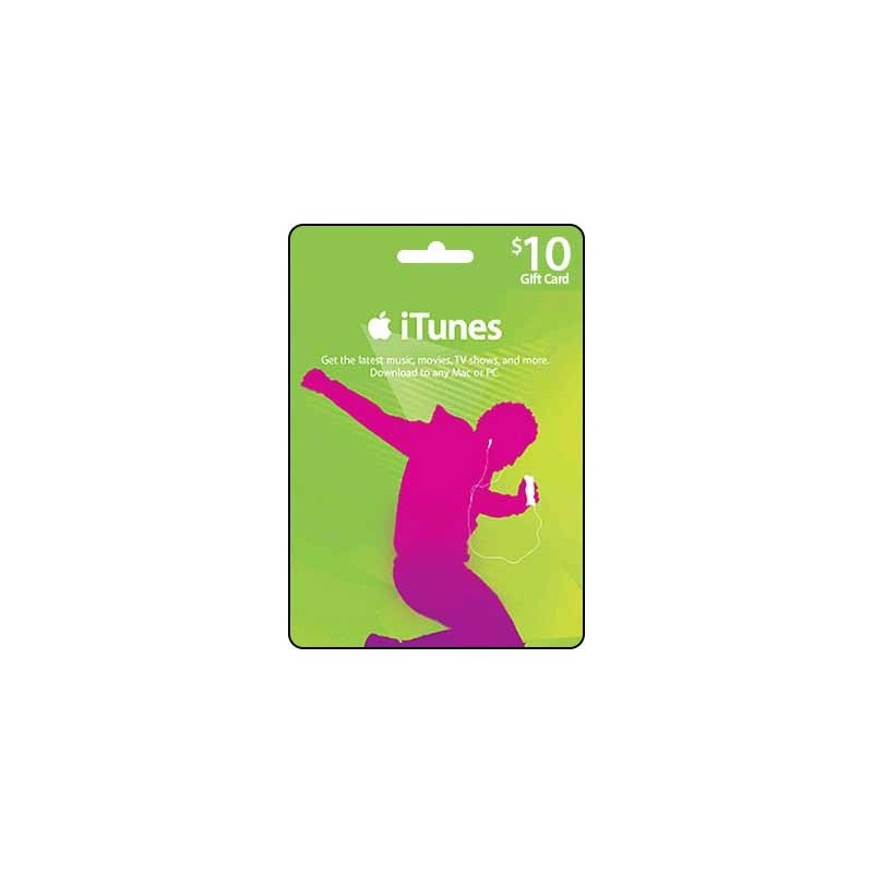 Email Delivery Gift Cards Itunes Gift Card 10 Email Delivery
