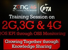 Zong Conducts Interactive Training for PTA on QoS KPI through OSS Monitoring