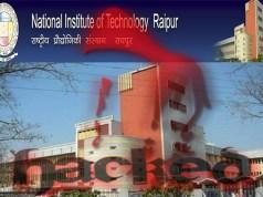 Pakistani Hacker Hacks Chhattisgarh NIT Website