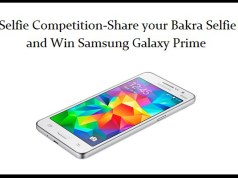 Warid Brings Bakra Selfie Competition-Share your Bakra Selfie and Win Samsung Galaxy Prime