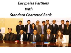 Easypaisa Partners with Standard Chartered for the Launch of Straight2Bank Wallet in Pakistan