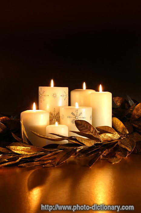 Fall Harvest Iphone Wallpaper Candles Photo Picture Definition At Photo Dictionary