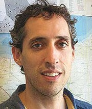 MSF operations manager, Joe Belliveau. Photo: MSFUK