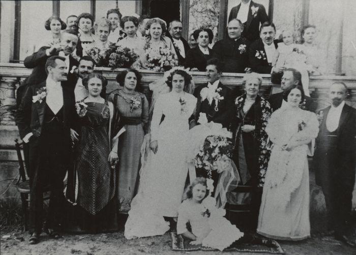 Irenа Drexler, Mieczysław Chwastowski, 1911
