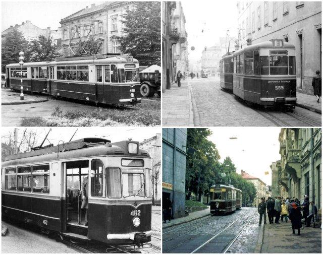 Трамваї моделі Gota T-62 у Львові.