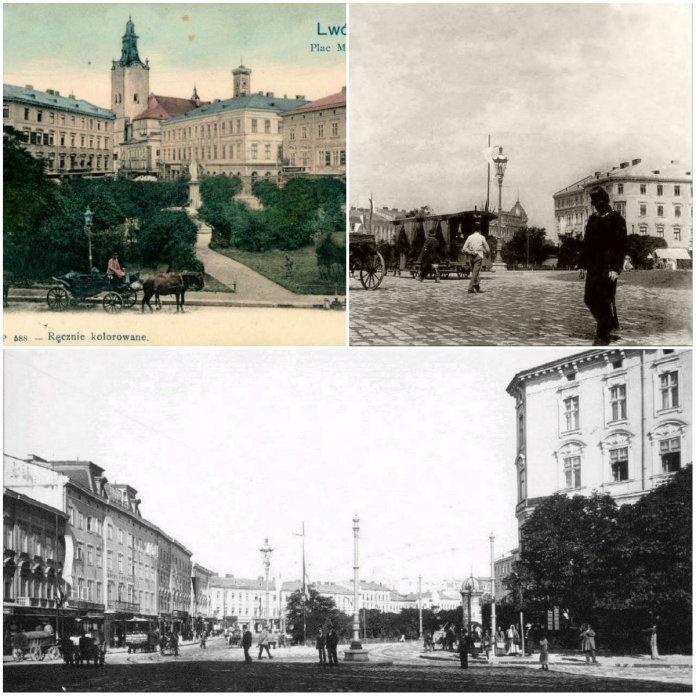 Дарунок Северини Бадені. 6 ранніх зображень Марійської площі