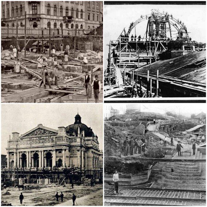 Фоторепортаж з будівництва Львівської Опери