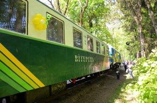 На дитячій залізниці відкрили новий сезон