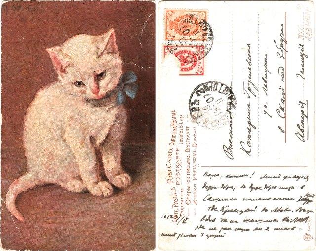 Лист Михайла Грушевського до Катерини Грушевської. Київ, 09.02.1907