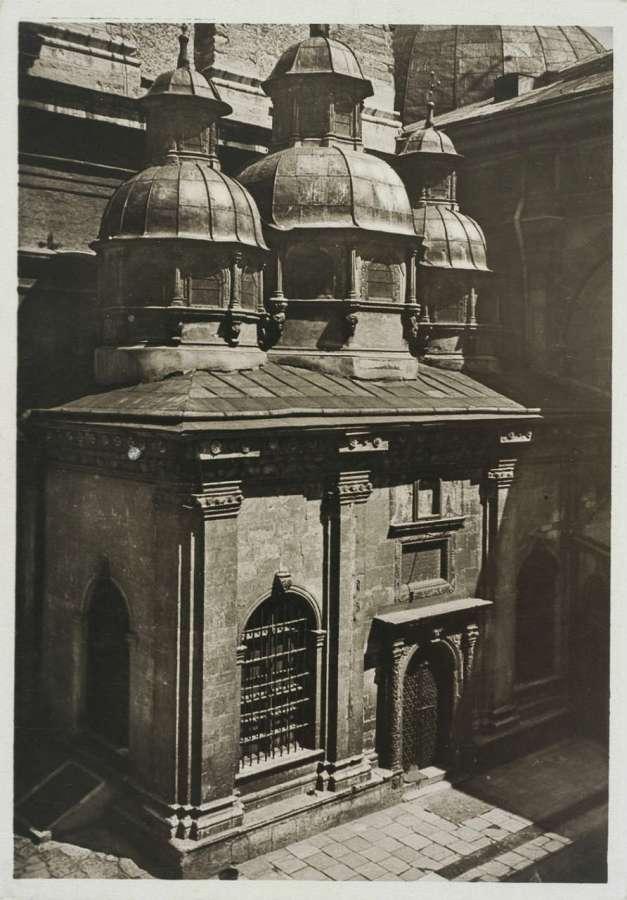 Каплиця Трьох Святителів на фото Адама Ленкевича. 1938 рік
