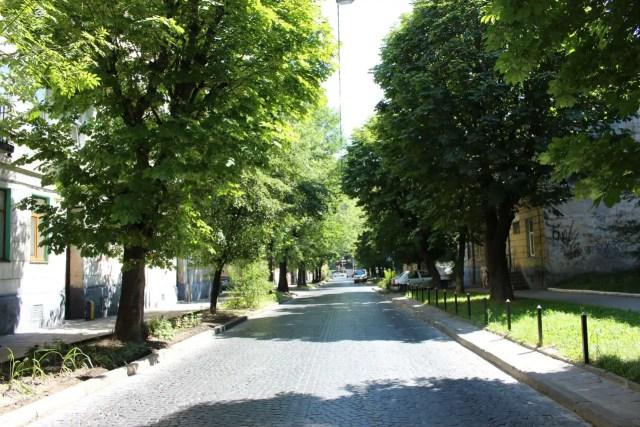 Вулиця Ярослава Мудрого. Фото 2015 року