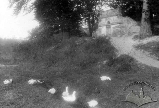 Водозбірник на Погулянці. Фото початку 1950-х років