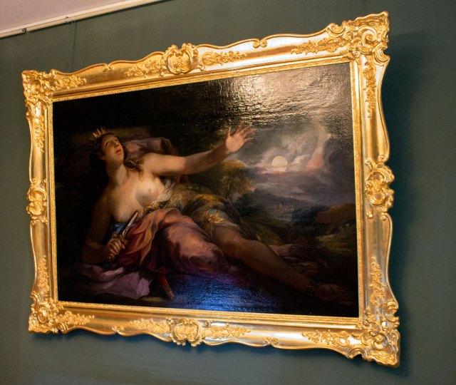 Живописне полотно «Смерть Лукреції»