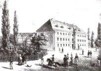 Колегія театинів, 1837 р. Літографія К. Ауера