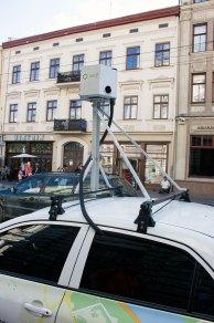 """Автомобіль для створення панорами вулиць міста для компанії """"Яндекс.Україна"""""""