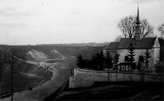 Костел Св. Войцеха і монастир місіонерів. 1927 р.