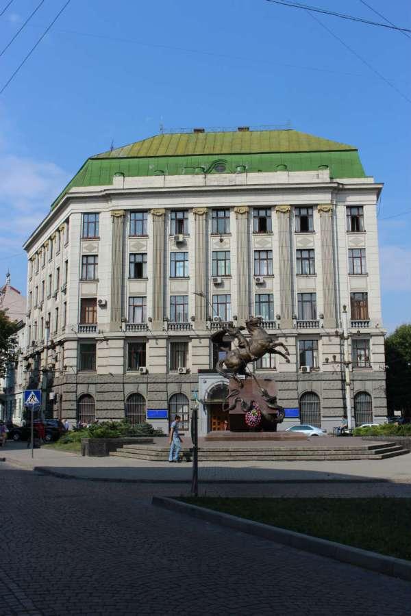 Будівля Управління міністерства внутрішніх справ України у Львівській області. Фото 2015 року