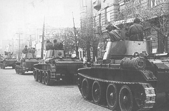 Входження радянських військ до Львова, 1939 рік.