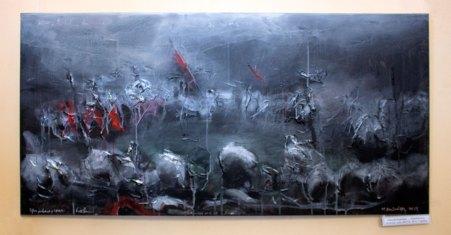"""Матвій Вайсберг """"Ґрюнвальд"""", полотно, олія, 60х120, 2014, Україна"""