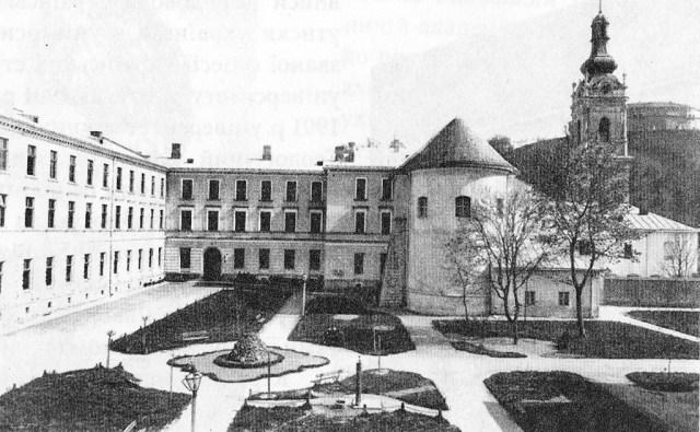 Львівська духовна семінарія, фото 1893 року