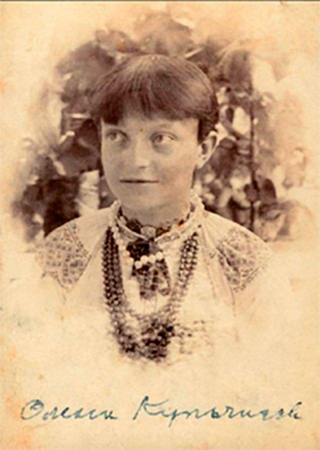 Художниця Олена Кульчицька, молоді роки