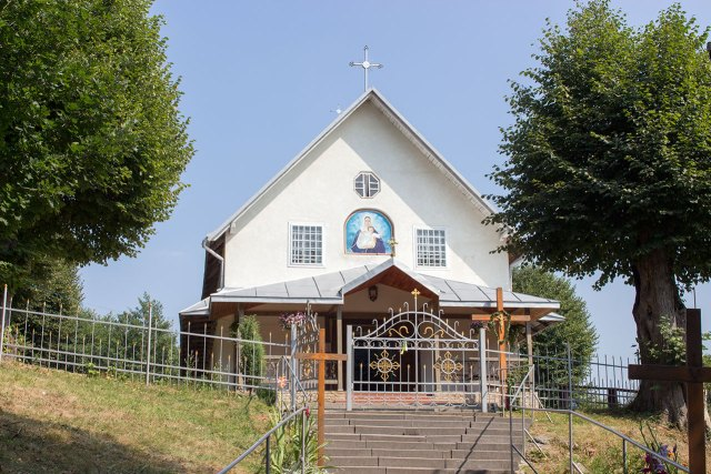 Храм Святих Мучеників Маккавейських в селі Новосілка