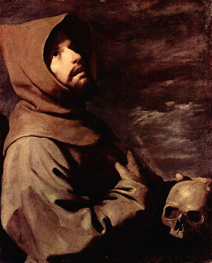 Святий Франциск - Франсиско де Сурбаран, 1658 рік