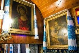 Інтер'єр церкви Св. Трійці на Сихові, фото 2015 р.