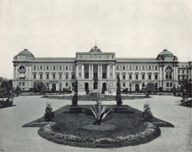 Будівля Галицького Сейму (1923 р. буде передана університету). Фото 1898 р