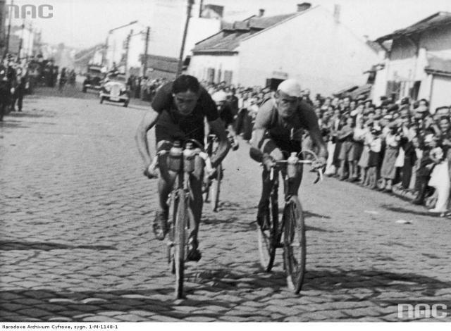 Львів. Міжнародні велогонки Dookoła Polski 1939р.