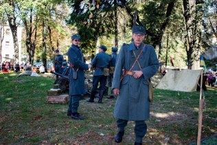 Учасники фестивалю «Військових традицій і звитяг Руси-України»