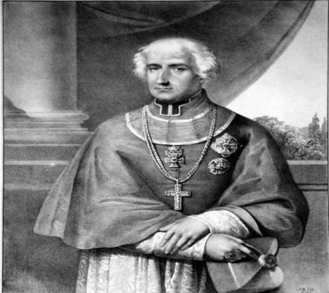 Анджей Алоїзій Анквич, літографія 1834 року