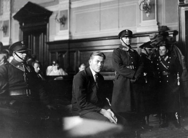 Микола Лемик під час процесу у Львівському окружному суді