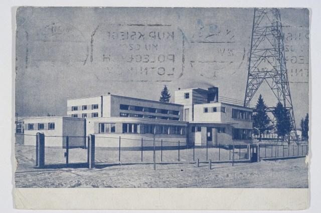 Радіостанція у підніжжя радіовежі у Стрийському парку. Фото 1930-х рр.