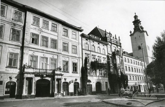 Вулиця Театральна у Львові, фото другої половини ХХ століття