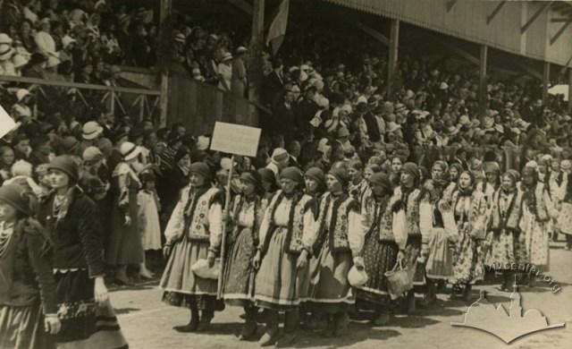 Краєвий сокільський здвиг 1934 року, який проходив на «Українському городі».
