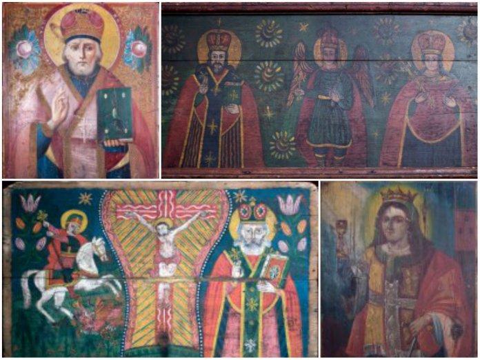 В Музеї Михайла Грушевського у Львові відкрилася виставка народних ікон ХІХ ст.