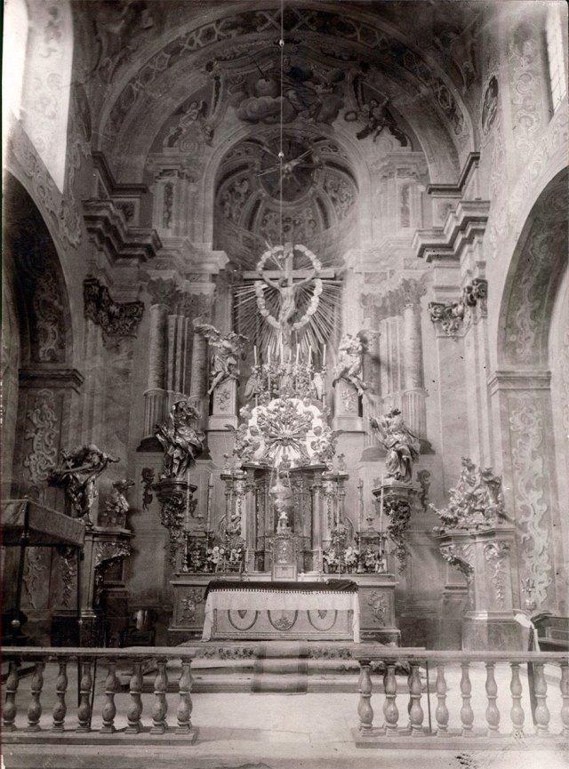 Вівтар Костелу Усіх Святих у Годовиці, 1935 рік