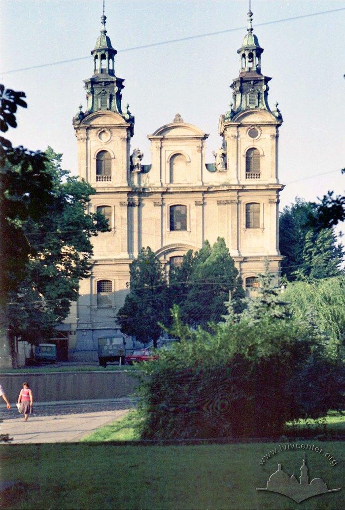 Костел Марії Магдалини в радянські часи. Фото 1970-1975 рр. Автор: Юрій Гаськевич