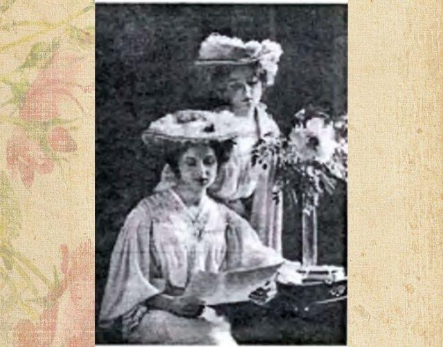 Фотопортрет львівських панянок, початок XXст.