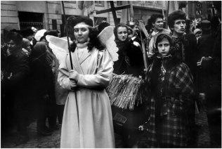Парад Вертепів 1988-1989 рр., Львів. Автор фото: Михайло Курило