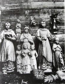 Скульптури костелу Св.Марії Магдалини, 1924 рік