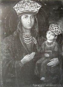 Ікона Мати Божа з Дитятком (Мати Божа Ласкава), 2001 рік