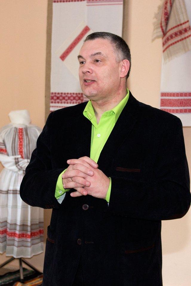 Директор Львівського обласного центру народної творчості і культурно-освітньої роботи Роман Береза