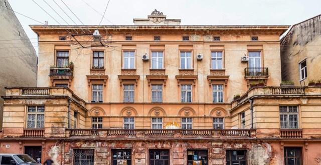 Палац Орловського на вулиці Пекарській № 13