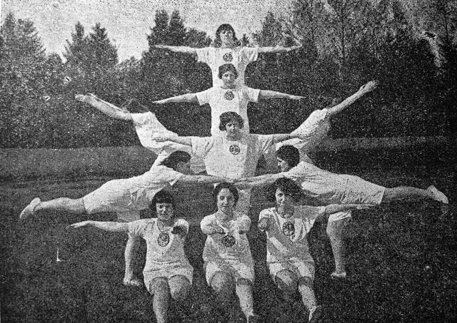Вежа «Рівновага» спортивного гуртка «Скуд» у Львові, 1927 р.