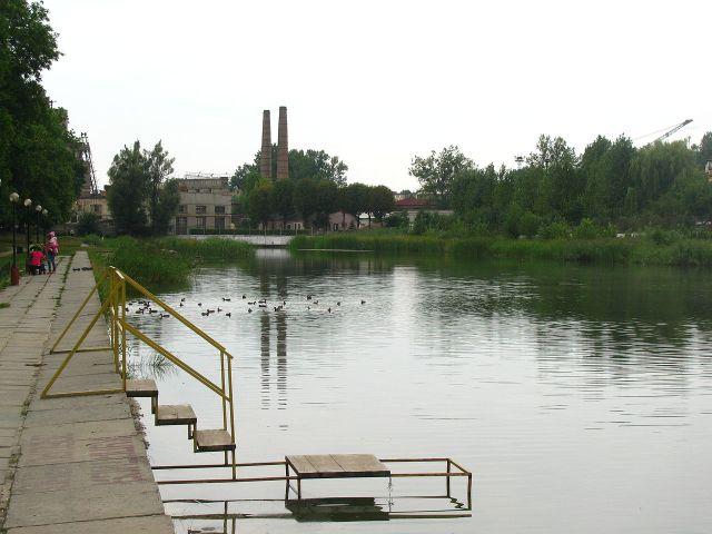 Левандівське озеро, відкрите в 1950-х рр.