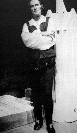 Володимир Блавацький у ролі Гамлета, 1943 р.