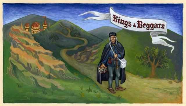 Ілюстрація до одного з альбомів. Фото зhttp://www.kings-and-beggars.com.ua